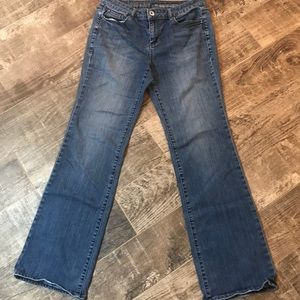 DKNY jeans sotto boot medium wash size 10